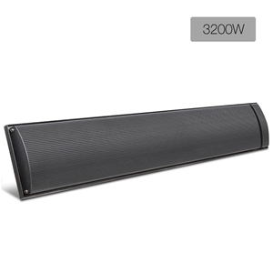 Devanti 3200W Electric Heater Panel - Bl