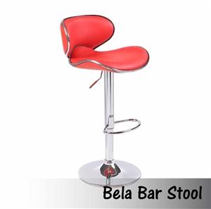 2 X Bela Red Barstools