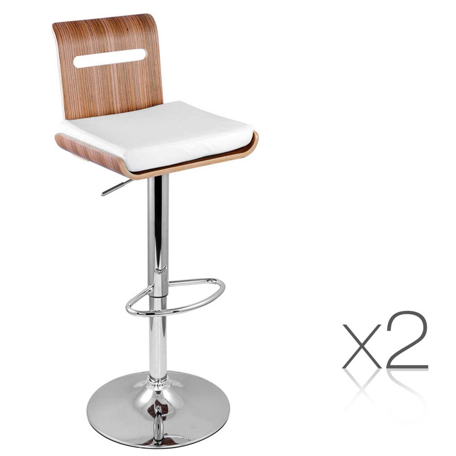 Modern kitchen bar stools 7 products graysonline for Modern kitchen bar stools