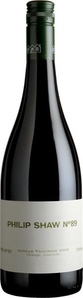 Philip Shaw `No.89` Shiraz 2016 (6 x 750mL), Orange, NSW.