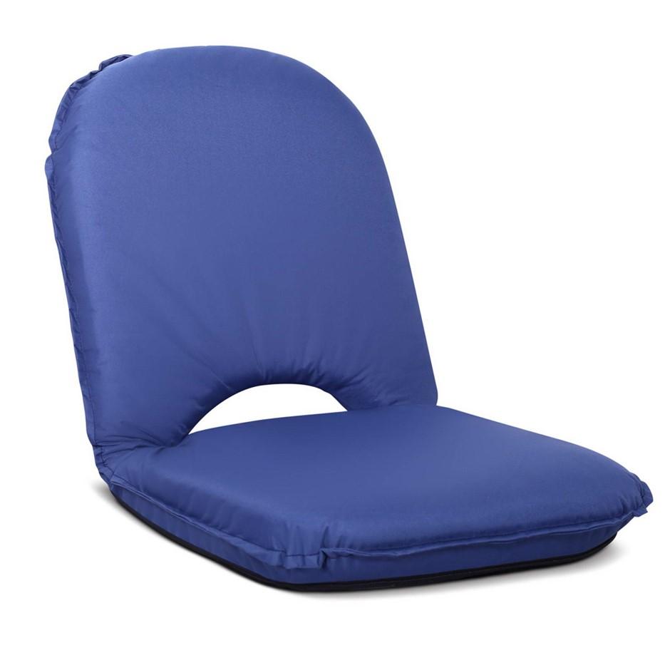 Artiss Foldable Beach Sun Picnic Seat - Navy