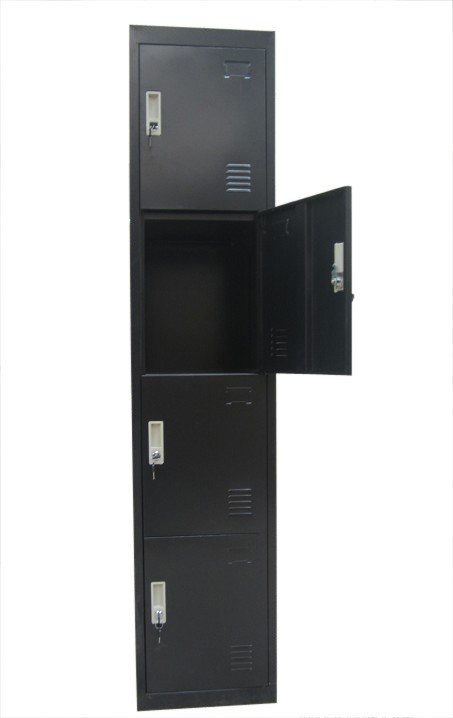 Four-Door Office Gym Shed Storage Lockers