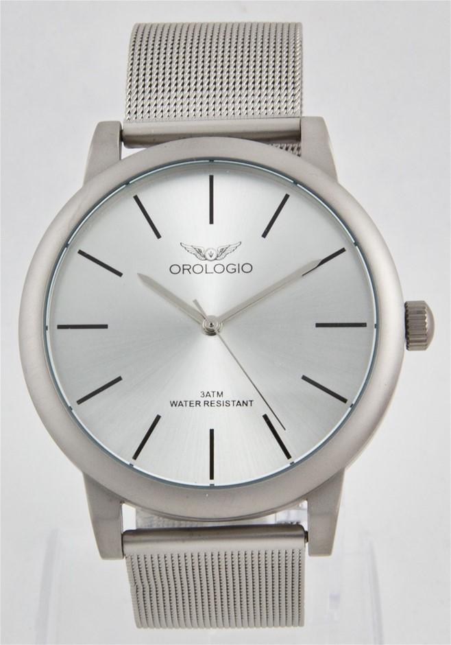 Orologio Emporio Collection Men's Mesh Watch