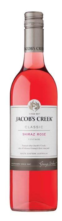 Jacob's Creek `Classic` Shiraz Rosé 2018 (12 x 750mL), SE, AUS.
