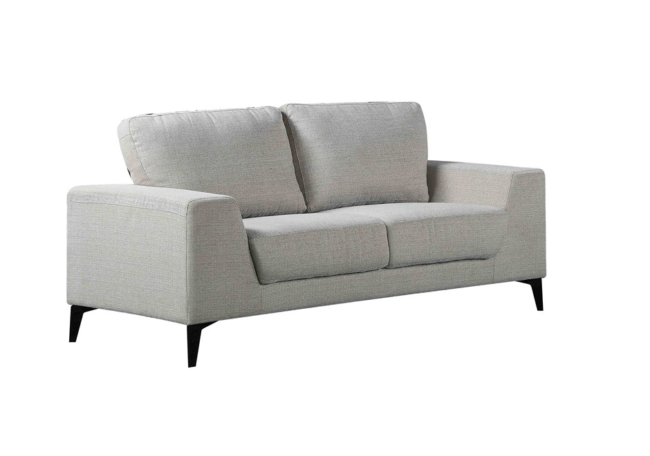 Solid wooden frame Sofa 3 Seater Light Grey
