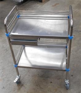 Stainless steel single draw medical trol