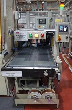 Custom Fabricated Visual Inspection Machine