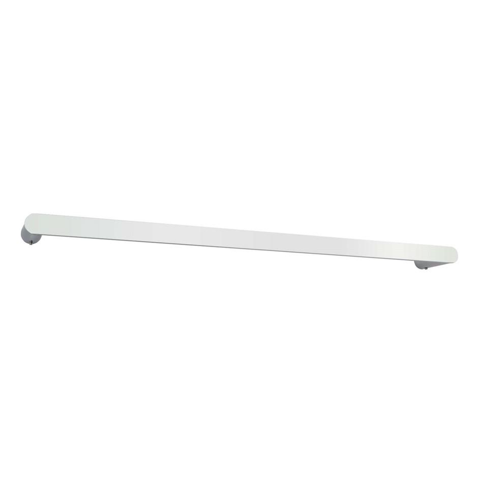 Round Chrome 304 Stainless Steel Single Towel Rail