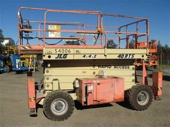 Jlg 3394rt Scissor Lift Serial Number 0200103 Auction
