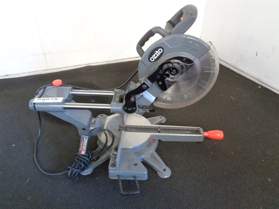 ozito compound mitre saw instructions