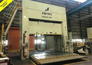 AMINO 300 Tonne Hydraulic Spotting Press