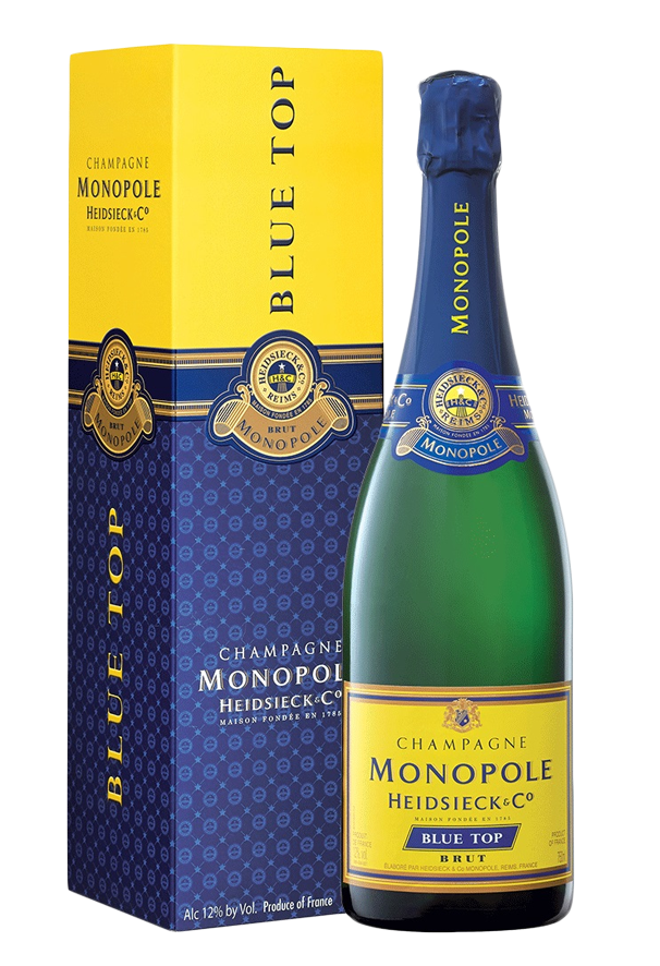 Heidsieck & Co `Monopole` Champagne NV (6 x 750mL) France.