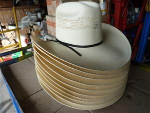 Qty 10 x Blue Dog country style hats (Pooraka c908cad0fec