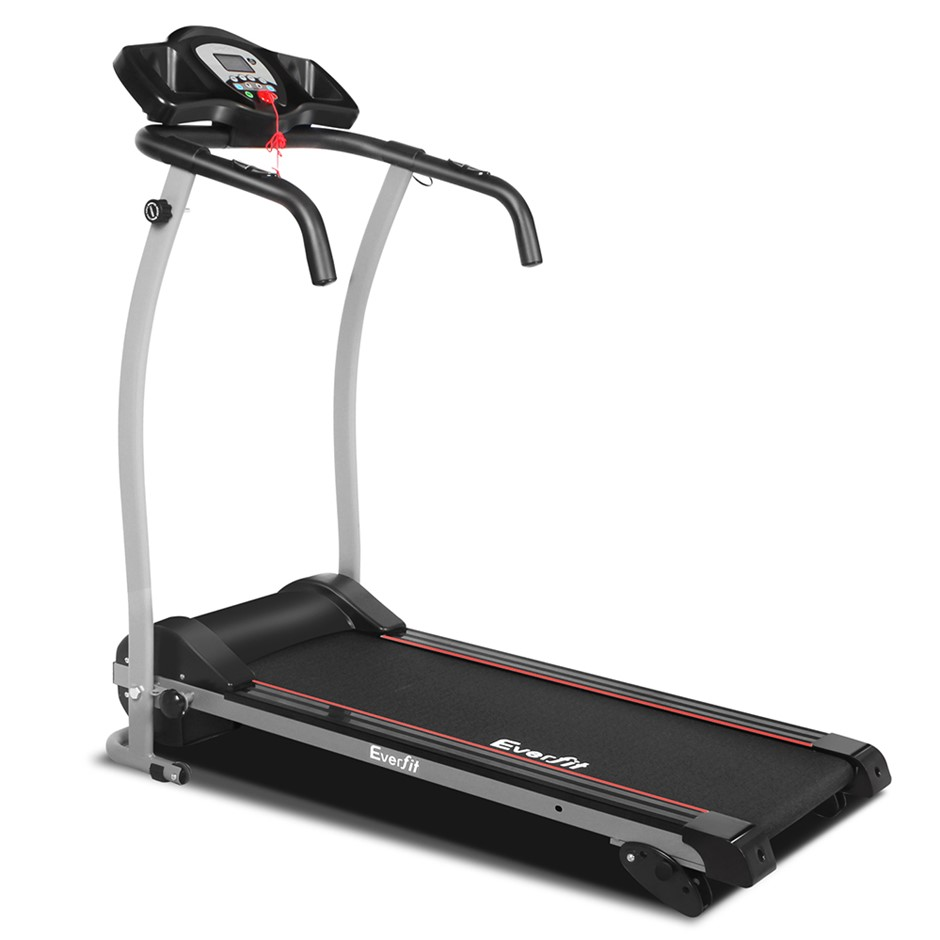Everfit Electric Treadmill W/Pulse Sensor 12 Speed Home Gym Fitness
