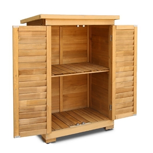 Gardeon Portable Wooden Garden Storage C
