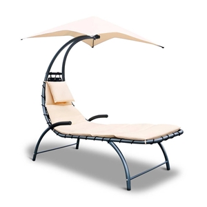 Gardeon Outdoor Lounge Chair with Shade