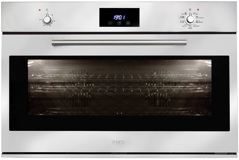 ILVE 90cm 102L Stainless Steel Electric Oven (900SKMPI)