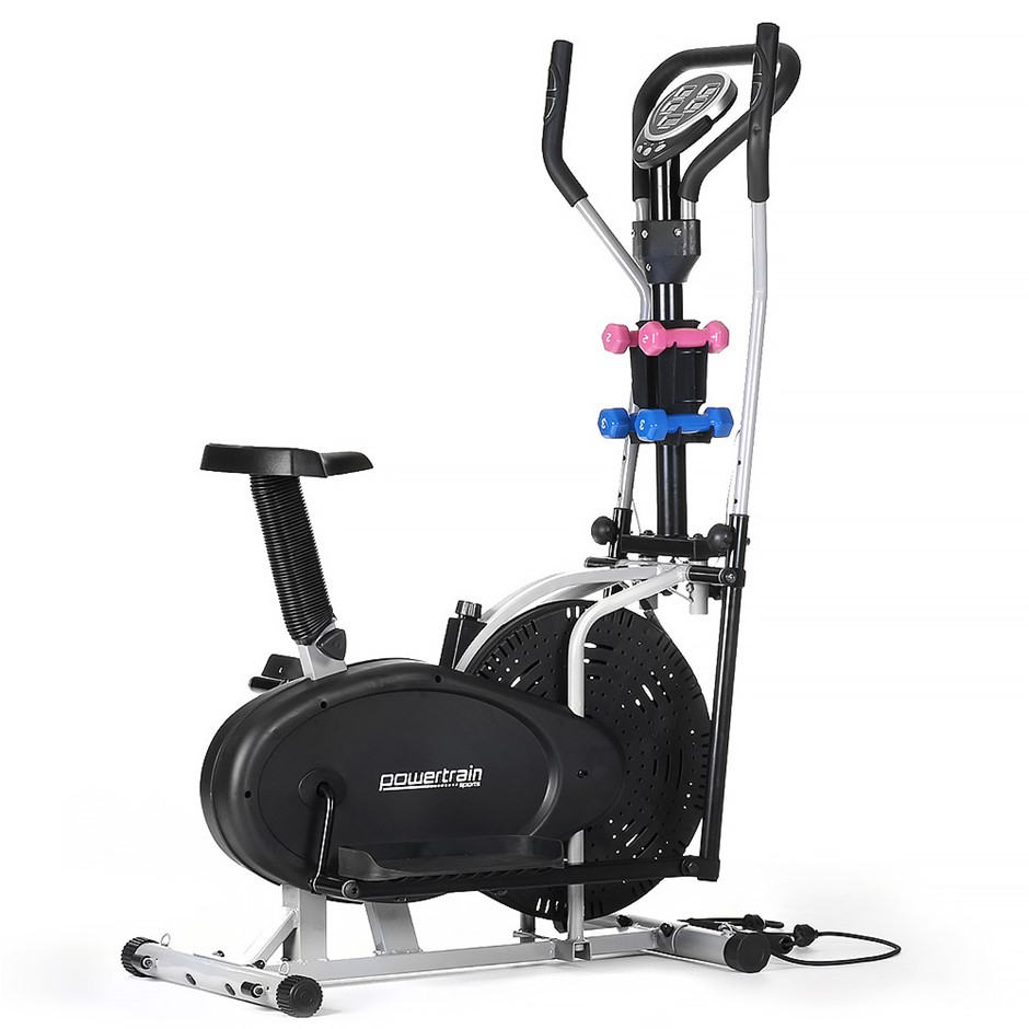 Powertrain 3-in-1 Elliptical cross trainer bike