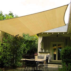 Wallaroo Shade Sail 4x5m Rectangle