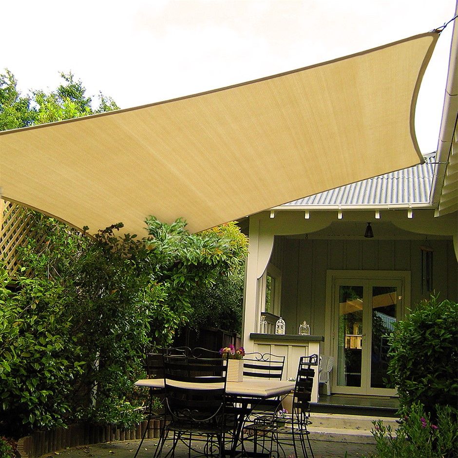 Wallaroo Shade Sail 8x5m Rectangle