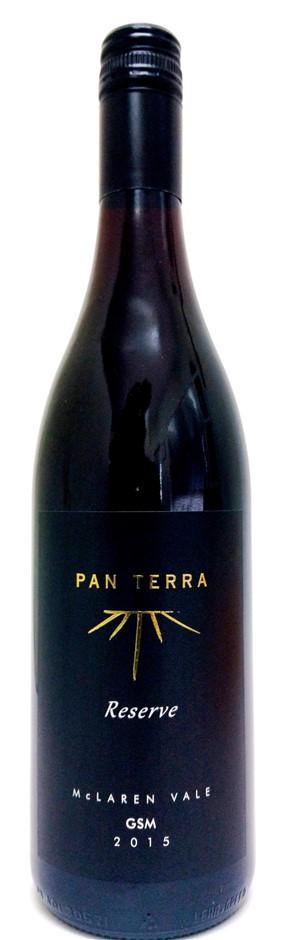 Pan Terra `Reserve` GSM 2015 (12 x 750mL), McLaren Vale, SA.