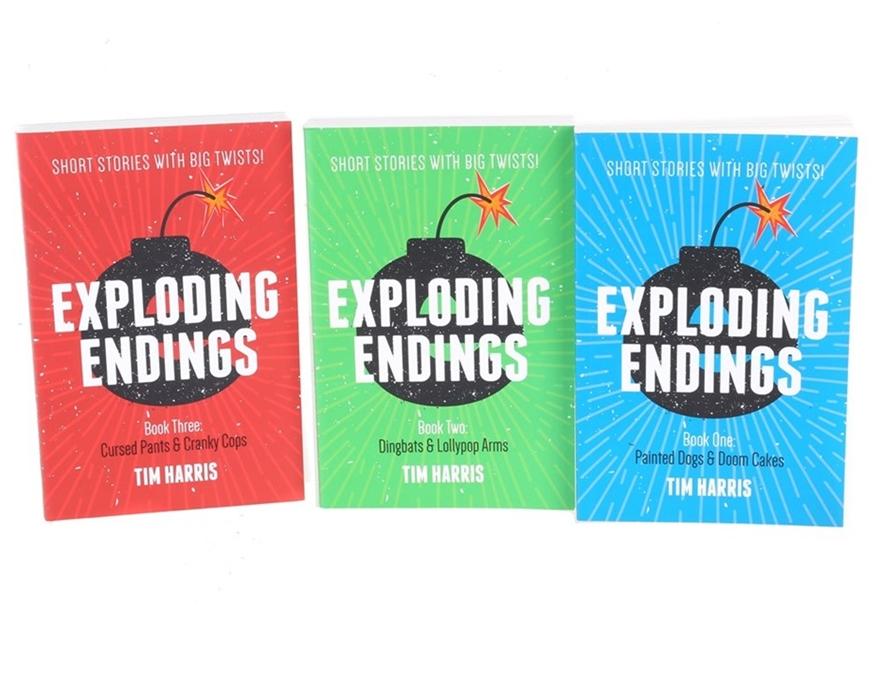 3 x ``Exploding Endings Stories Books By TIM HARRIS. Buyers Note - Discount  Auction | GraysOnline Australia