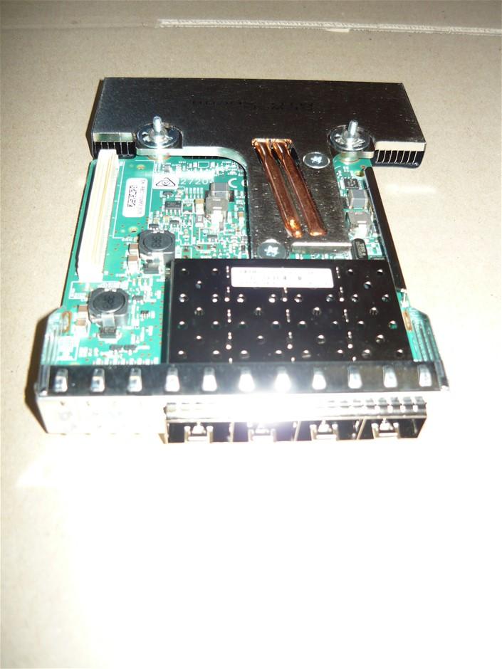 New Dell Broadcom 57840S 10Gb SFP Quad Port Daughter Network Card XGRFF