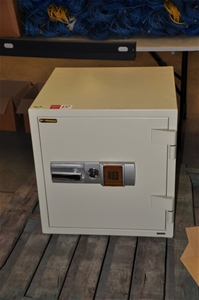Floor Safe - Defiance Safe Co with Key and Electronic combination lock