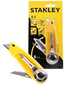 2 x Stanley 4 in 1 Multi- Purpose Utilit
