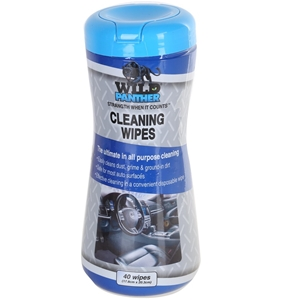 4 Packs x WILD PANTHER Wet Cleaning Wipe