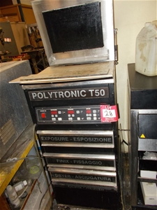 Combination nylo / polymer plate processor ``Polytronic T50`` includes expo