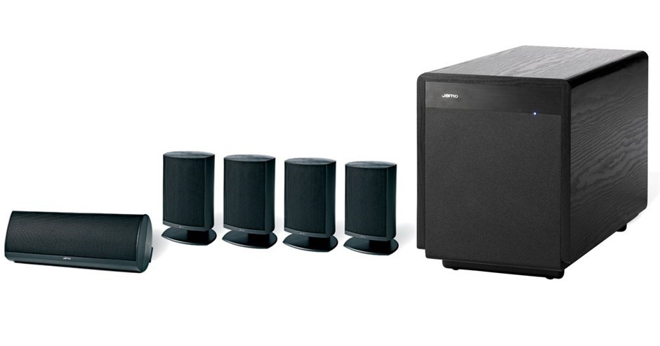Jamo A320HCS6 Home Theatre Speaker Package (Black)