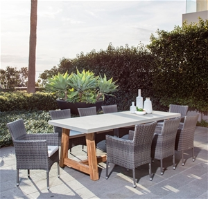Excalibur Outdoor Living Veltis 9 Piece Dining Package Auction 0002 7122523 Graysonline