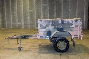 Haulmark PT1-1.2 Single axle Cargo Trail