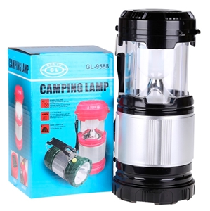 2 x Camping Lamps with Torch 15x20cm use
