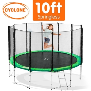 Cyclone 10 ft Springless trampoline with