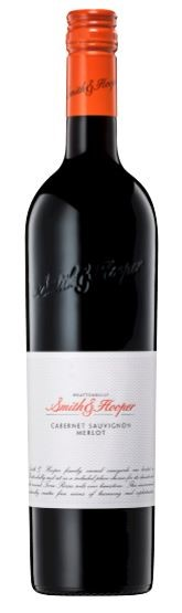 Smith & Hooper Cabernet Merlot 2014 (12 x 750mL), Wrattonbully, SA.