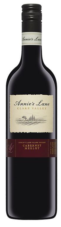 Annie's Lane Cabernet Merlot 2017 (6 x 750mL), Clare Valley, SA.