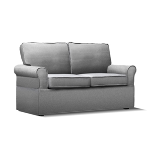 Fine Artiss 2 Seater Folding Sofa Bed Grey Squirreltailoven Fun Painted Chair Ideas Images Squirreltailovenorg