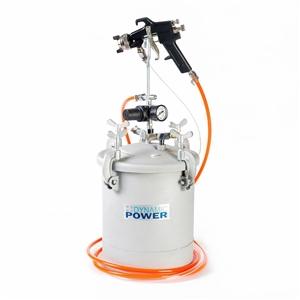 10Lt Pressure Pot with Spray Gun Paint T