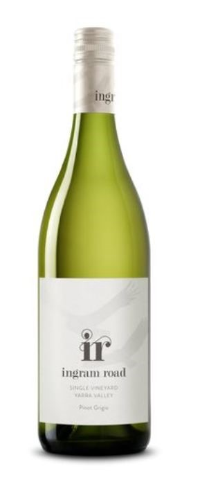 Ingram Road Pinot Grigio 2018 (12 x 750mL), Yarra Valley, VIC.