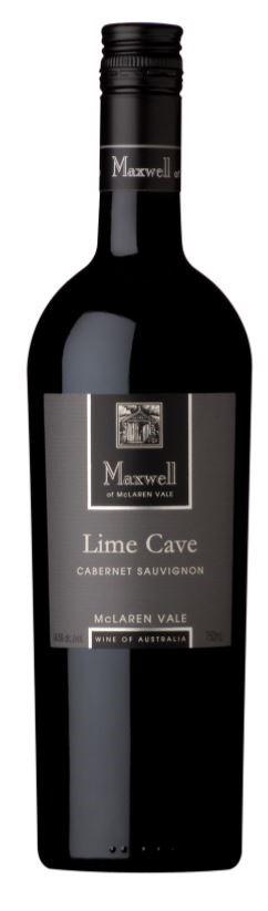 Maxwell `Lime Cave` Cabernet Sauvignon 2018 (6 x 750mL), McLaren Vale, SA.