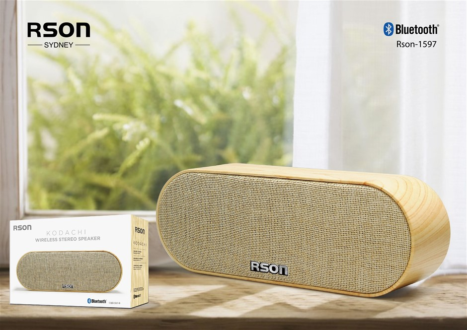 Rson Kodachi Yellow Wireless Speaker (1597)