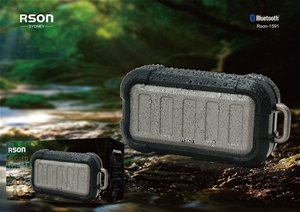 Rson Rugged Portable Bluetooth Speaker (