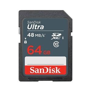 SanDisk 64GB SDHC Class 10 Ultra 48MB/S