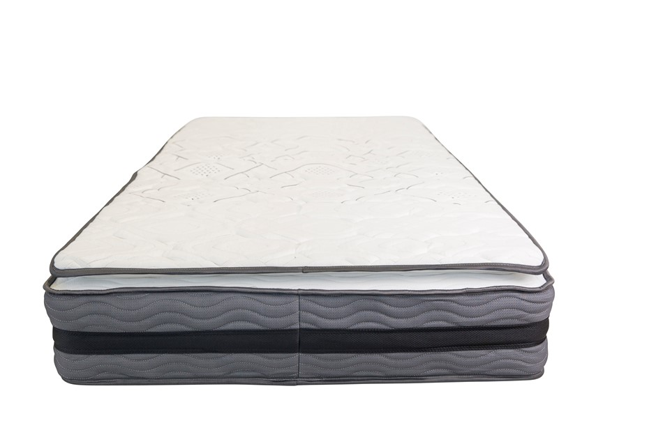 Memory Foam Pillow Top Pocket Spring Mattress - Double