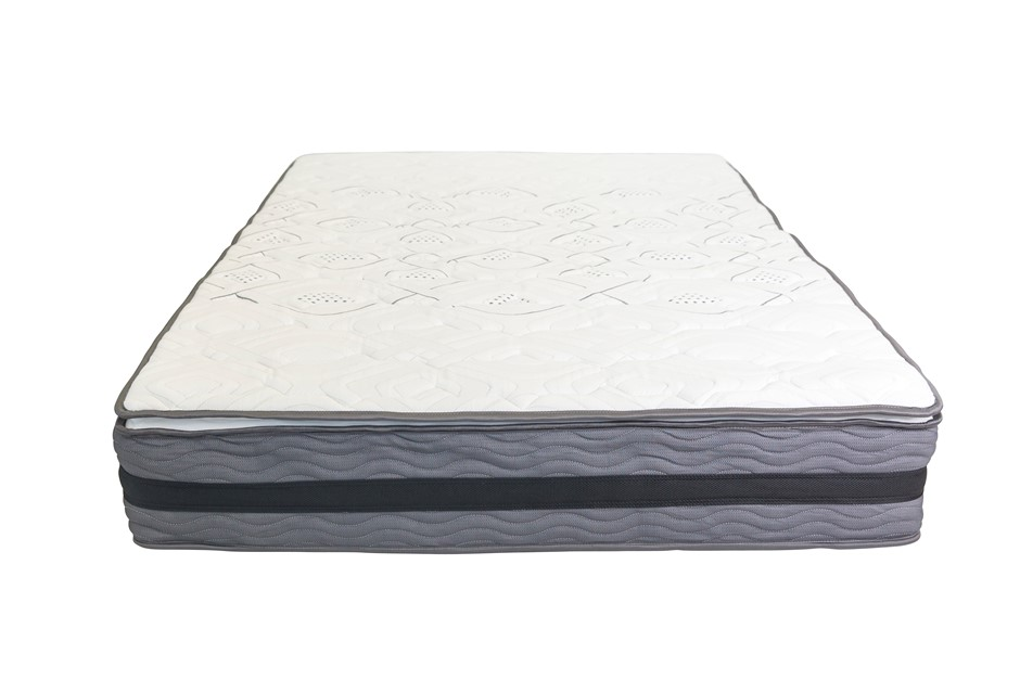 Memory Foam Pillow Top Pocket Spring Mattress - Queen