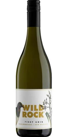 Wild Rock Pinot Gris 2016 (12x 750ml) Central Otago NZ