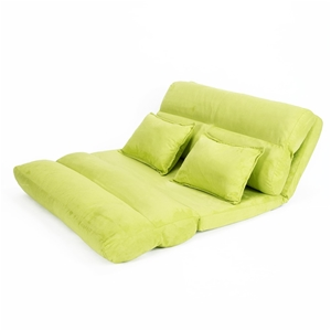Lounge Sofa Fabric Double Bed PISCES - G