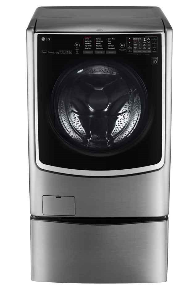 LG TWIN171216T 18.5kg Total Washing Load TWINWash System With LG MiniWasher
